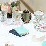 2 styled-shoot-wedding-styling-modern-english-rose-gaynes-park-tea-set-bride-prep