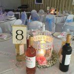 5 middlesex-cricket-club-wedding-north-london-starlight-backdrop-birdcages