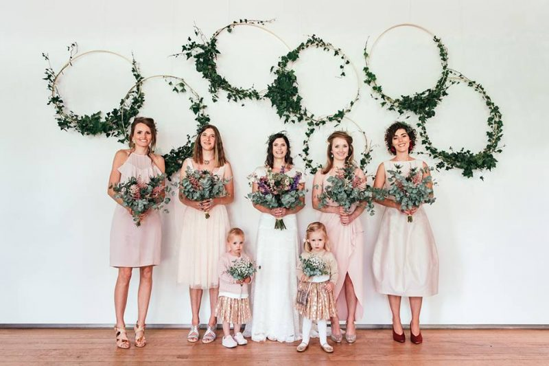 1 devine-bride-wedding-planner-east-london-dilston-grove-dry-hire-flower-floral-hoops