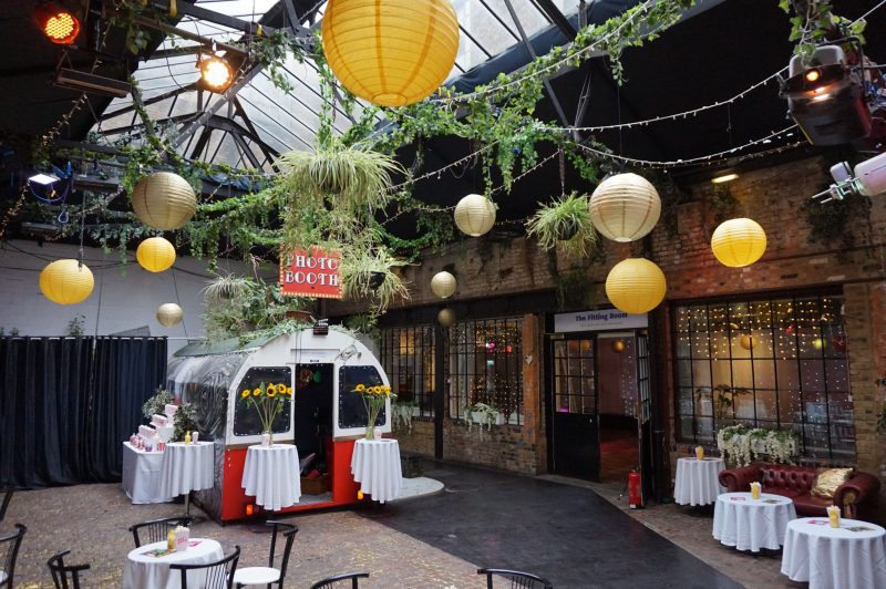 1 islington-metal-works-urban-industrial-birthday-party-london-movie-theme-party-planner