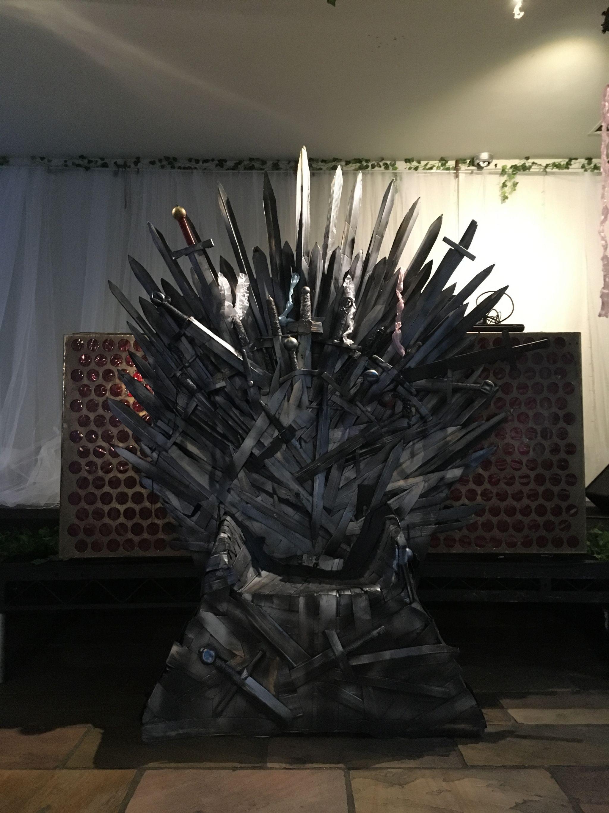 1 laura-devine-bride-wedding-planner-east-london-islington-metal-works-alternative-game-of-thrones-chair-got