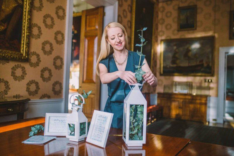 1 supplier-spotlight-devine-bride-laura-wedding-supplier-tasker-planner-london-greenery-stately-home-lantern