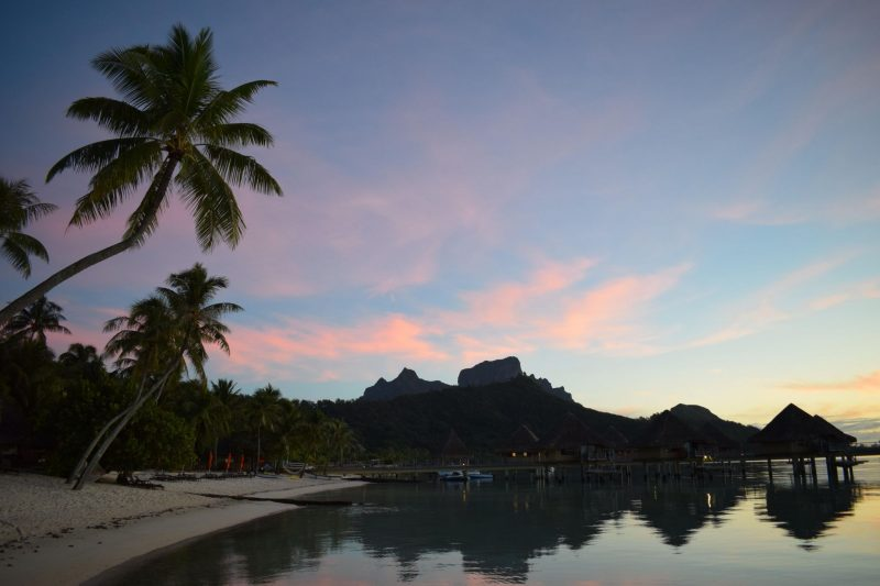 laura-devine-bride-wedding-tasker-planner-london-honeymoon-palm-tree-bora-bora-desert-island-french-polynesia-sunrise-sunset-beach-bungalow-overwater