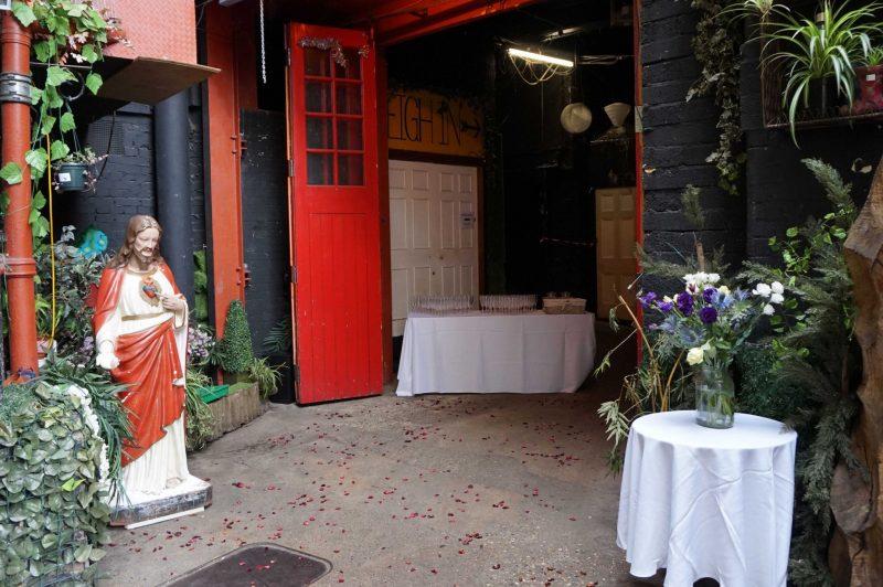 A Entrance 2 islington-metal-works-wedding-angel