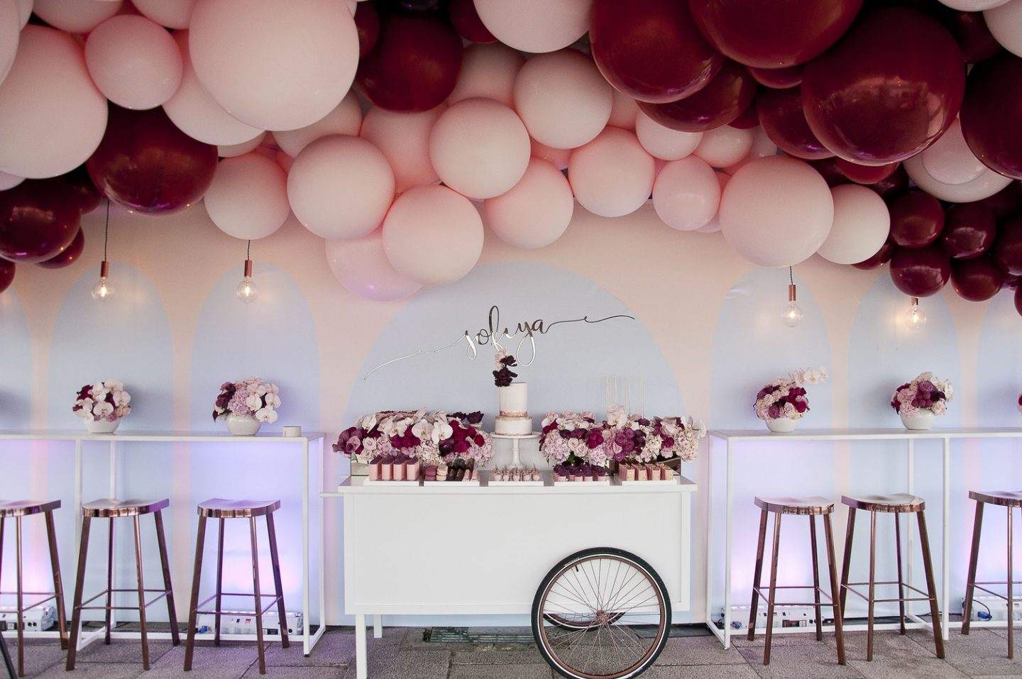 Balloon Ceiling Diy Inspo Devine Bride