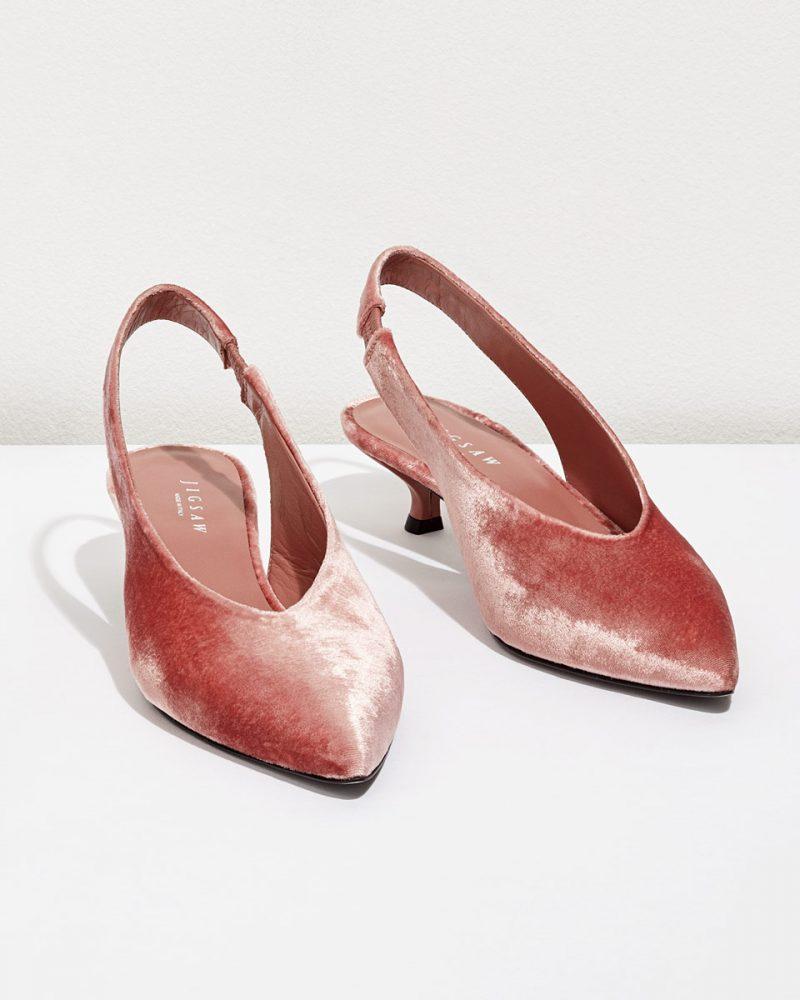 velvet-kitten-heel-wedding-shoes