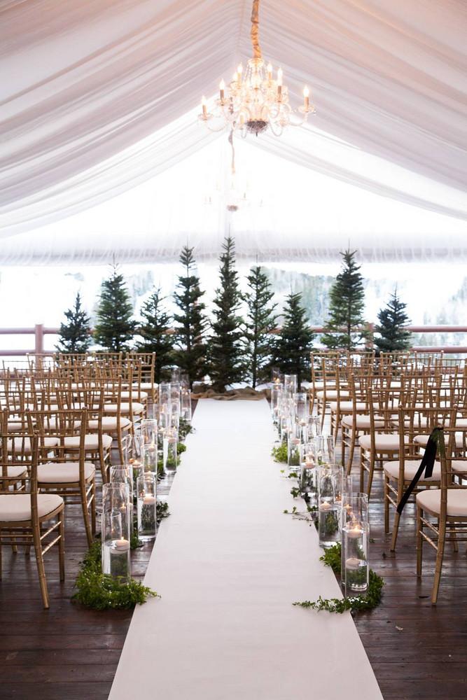 wedding décor tips christmas wedding styling