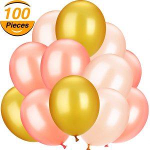 3 Colour Balloons x 100