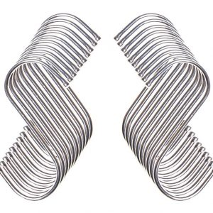 Metal S Hooks x 20