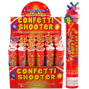 Confetti Cannon x 6 (Small)