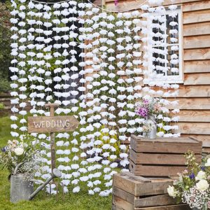 Floral Photo Booth Backdrop 1.5 x 2m