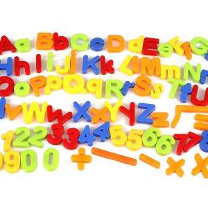 Magnetic Letters x 80 pcs