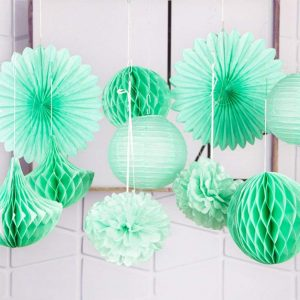 Mint Lanterns x 10