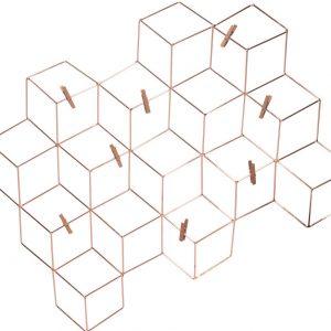 Modern Copper Wire Memo Board/Table Plan