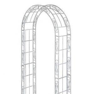 White Flower Arch