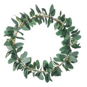 Artificial wreath – Eucalyptus