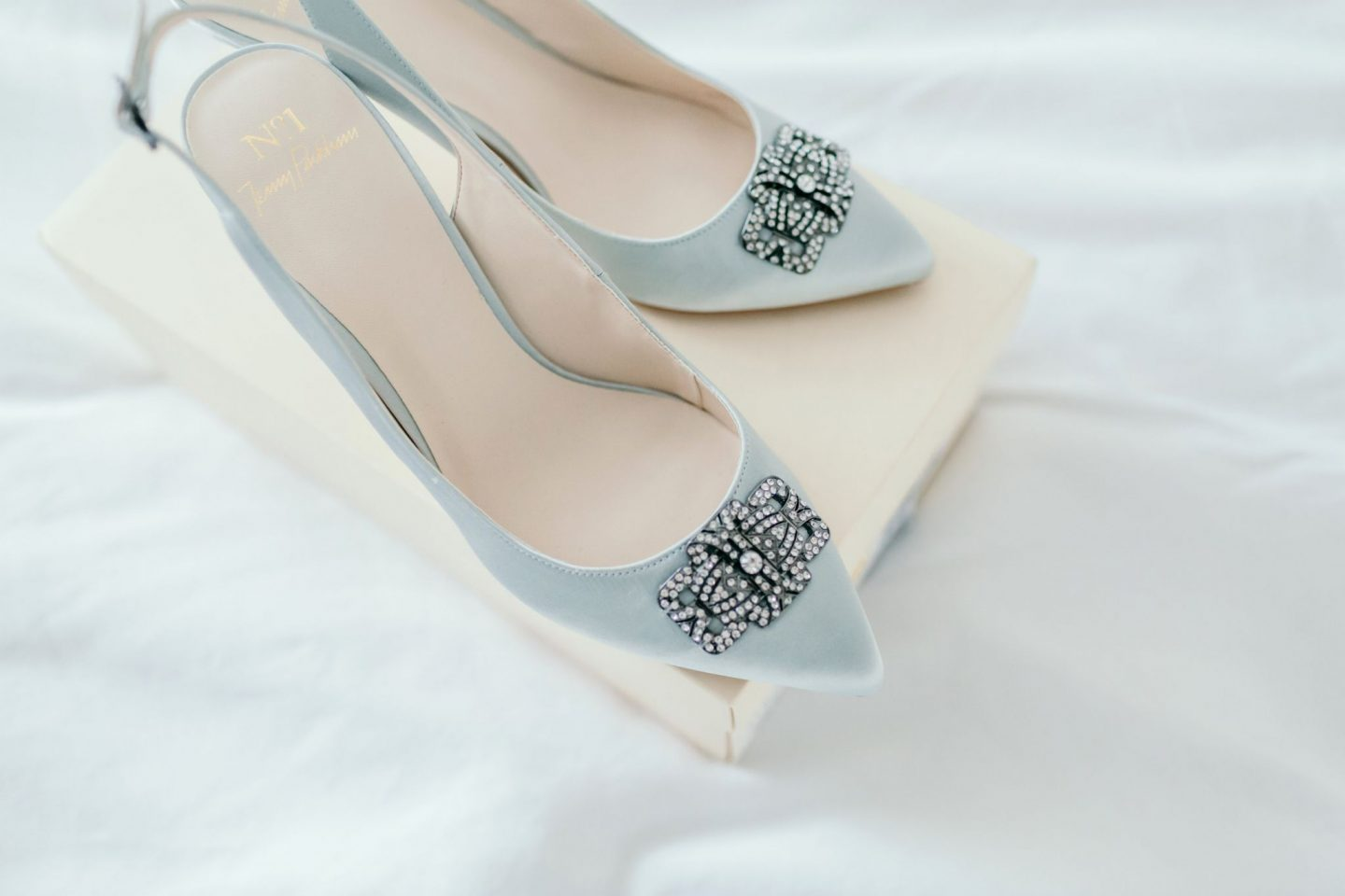 Wedding Checklist something blue Jenny Packham bridal shoes