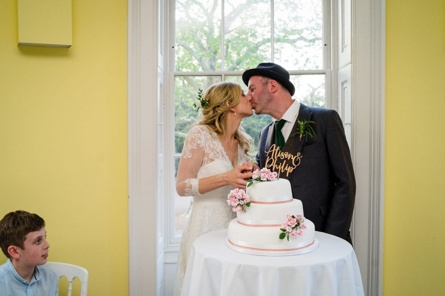 wedding at Clissold House