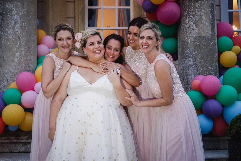 Bubblegum Balloons Wedding Decor, Buxted Park