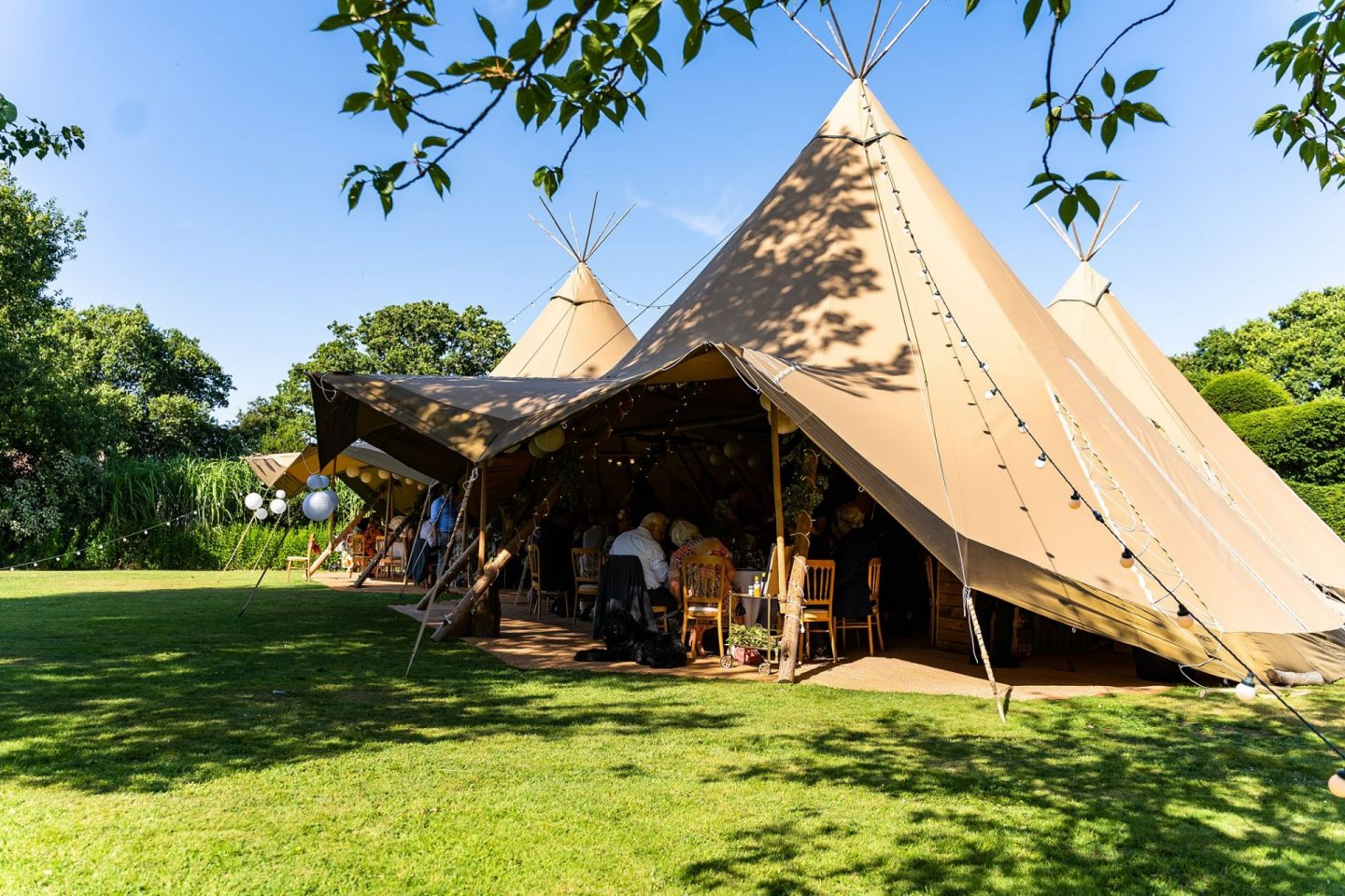 Tipi Wedding Sussex