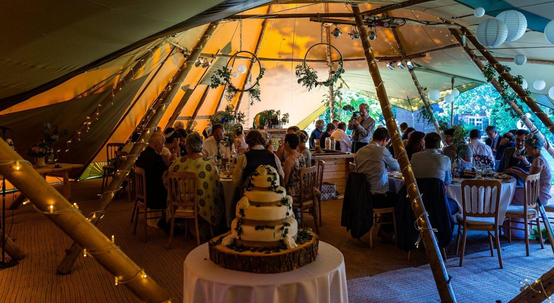 Tipi Wedding Sussex