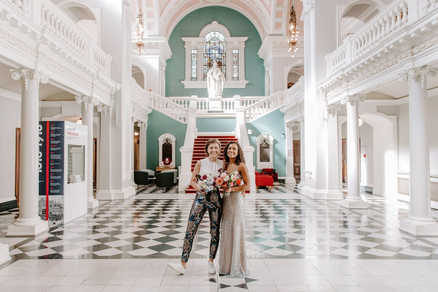 Woolwich Town Hall wedding | One Friendly Place party | Devine Bride