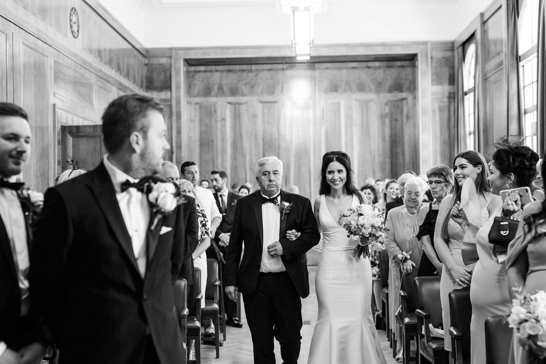Hackney Town Hall Wedding Chic Wedding Modern Wedding