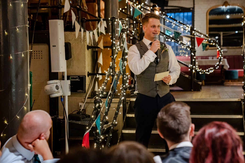 The Depot N7 London Pub Wedding speeches