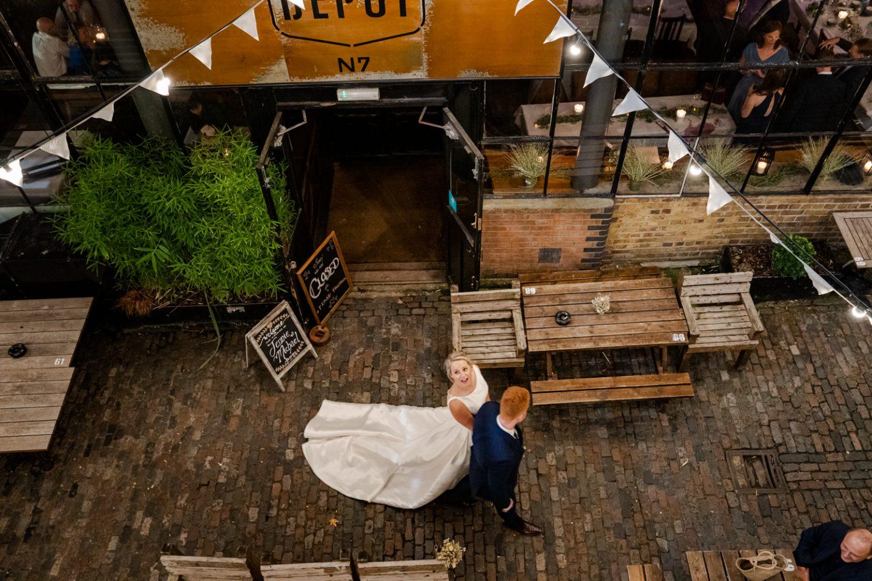 The Depot N7 pub wedding