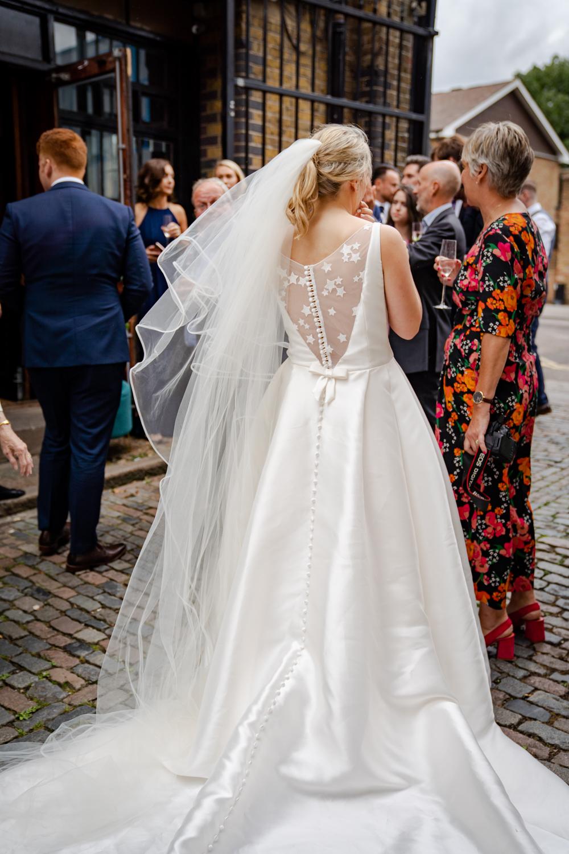 bride celestial wedding dress