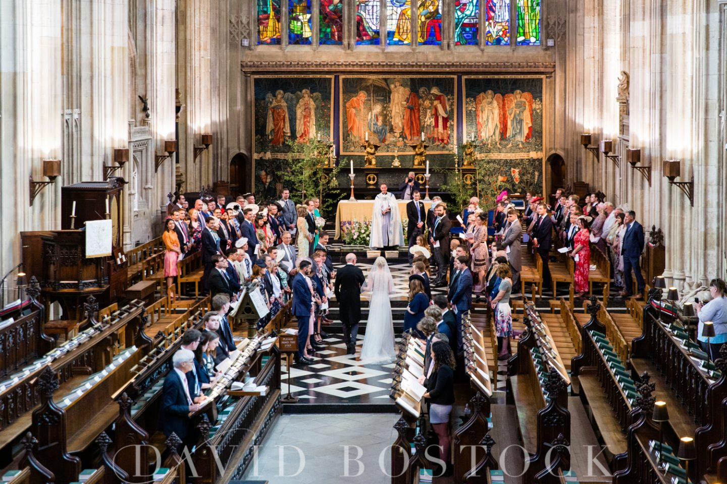 Eton College Chapel Wedding Alter