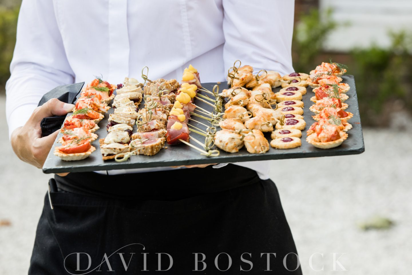 Stoke Place Hotel Wedding Canapes