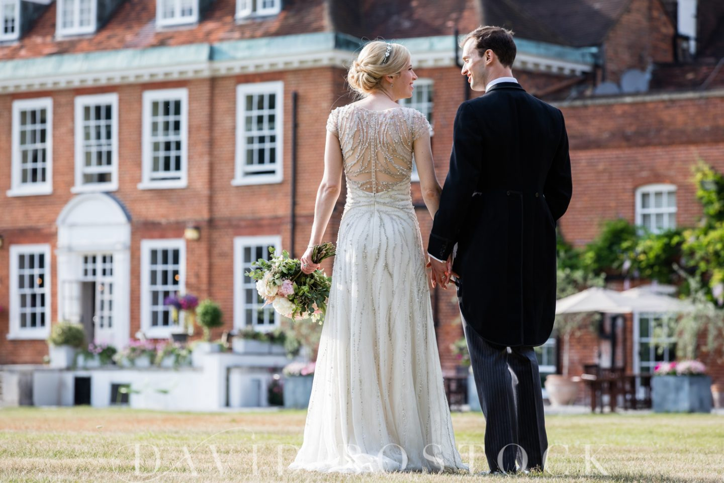 Eton College Chapel Wedding + Stoke Place Wedding Reception