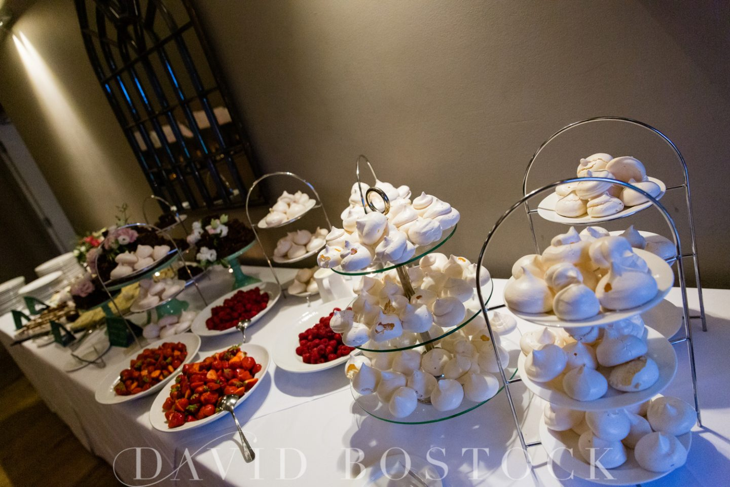 Eton College Chapel Wedding + Stoke Place Wedding Reception Dessert Station