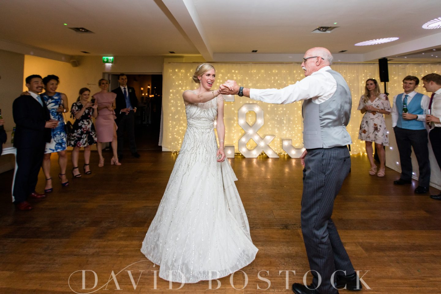 Eton College Chapel Wedding + Stoke Place Wedding Reception Father Daughter Dance