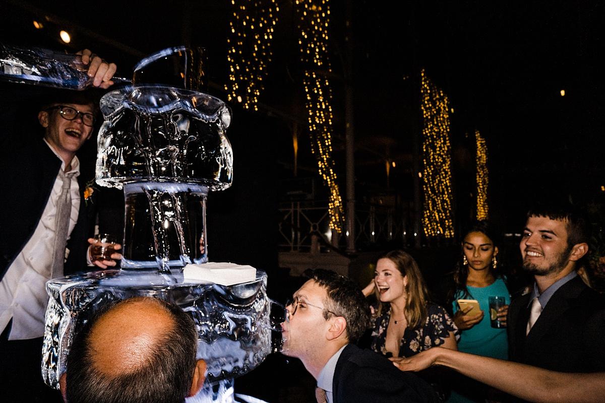 ice-luge-wedding-cake-alternative-wedding-fun-wedding-museum-of-childhood-V&A