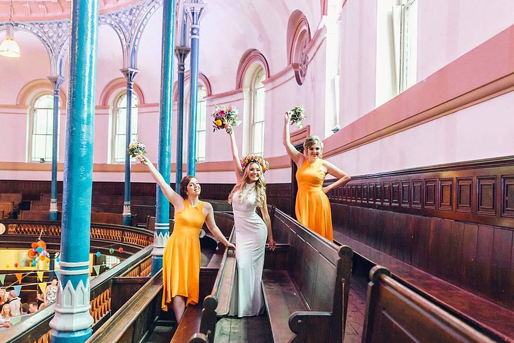 Dry Hire Wedding Round Chapel Hackney