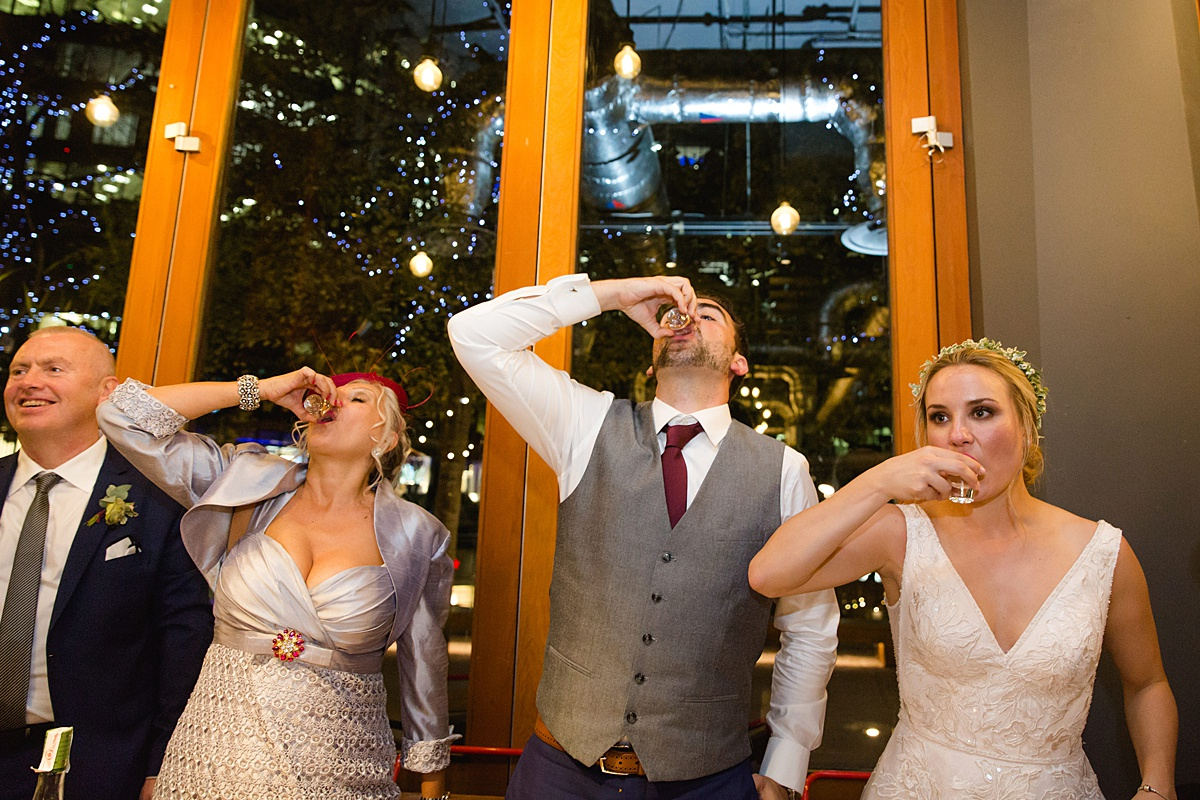 Ways to Include Your Mum in Your Wedding - MOG speech and toast and shots
