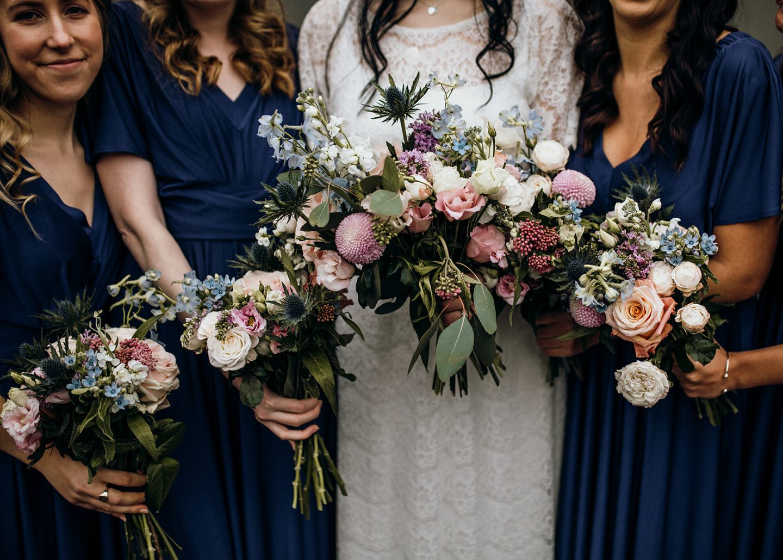 Sally Sweet Pea Rosa wedding flowers